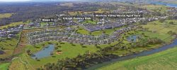 Aerial Macleay Valley Village Retirement Homes