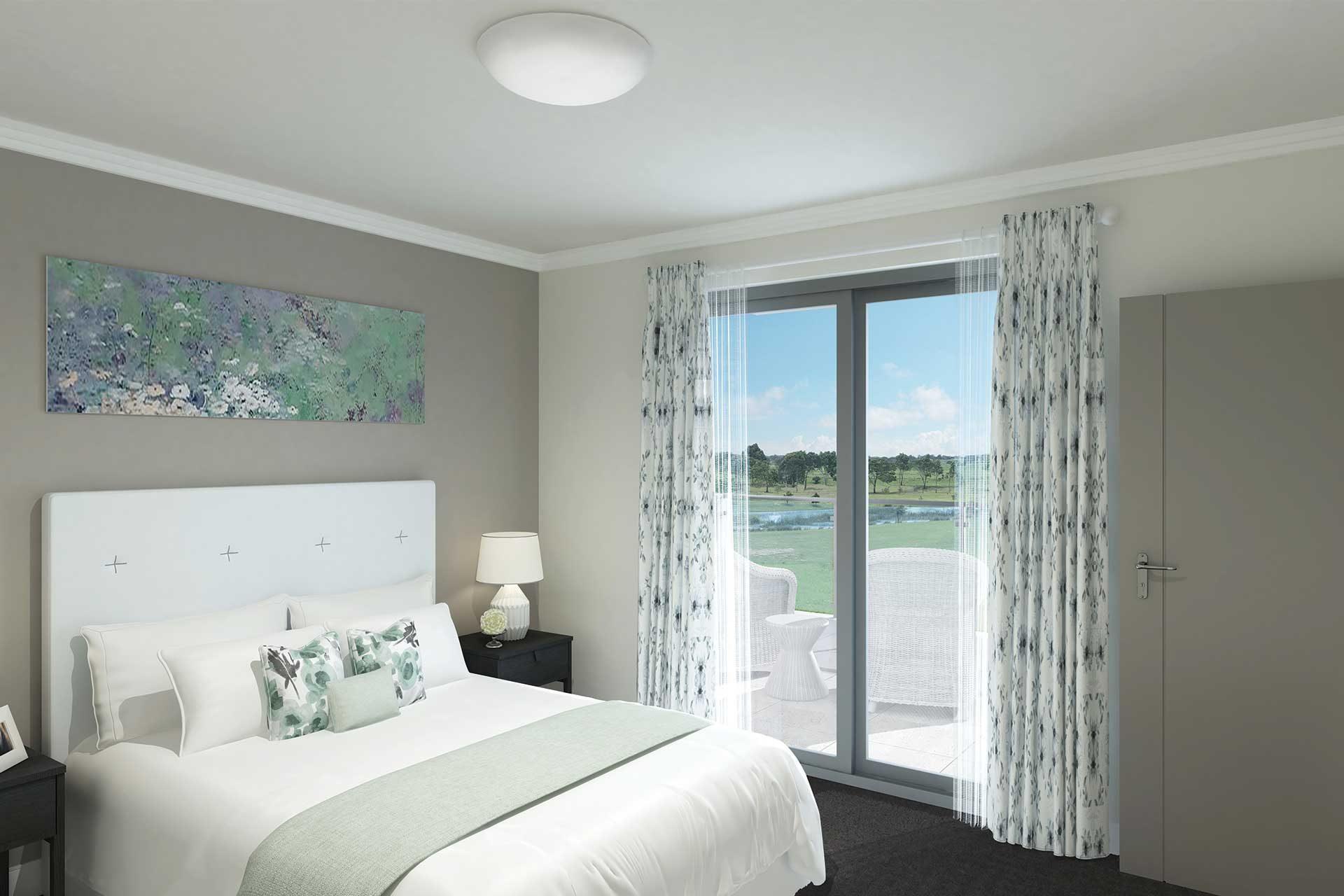 Bedroom In A Luxury Villa, Built For Comfort