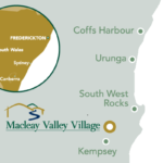 Macleay Village Website Map Small