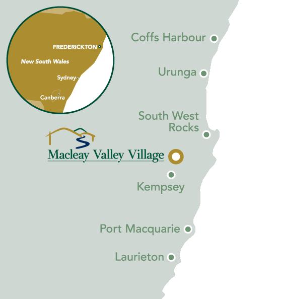 Macleay Village Website Map