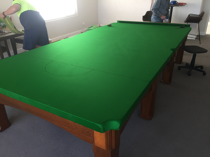 Billiard Table Installation