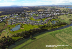 Overview Of Macleay Valley Village Stage 1 Artist Impression Cropped